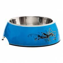 Миска Rogz для собак средняя, 175*65 мм синяя, 350 мл