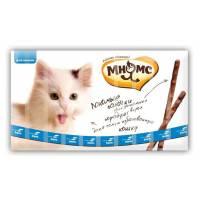 Мнямс лакомые палочки для кошек с лососем и форелью 13,5 см - 5 г (5г х 10 шт)