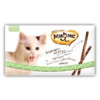 Мнямс лакомые палочки для кошек с уткой и кроликом 13,5 см - 5 г (5г х 10 шт)