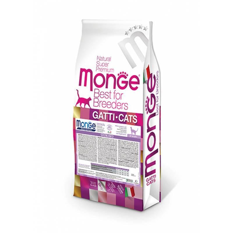 Monge Cat Urinary для кошек профилактика МКБ 1,5 кг