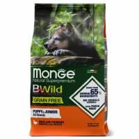 Monge Dog GRAIN FREE беззерновой корм для щенков с уткой и картофелем - 2,5 кг