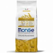 Monge Dog Speciality Adult Chicken сухой корм для взрослых собак всех пород курица с рисом и картофелем - 2,5 кг (12 кг)
