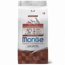 Monge Dog Speciality Mini Puppy & Junior для щенков мелких пород ягненок с рисом и картофелем 2,5 кг