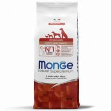 Monge Dog Speciality Puppy & Junior сухой корм для щенков всех пород ягненок с рисом и картофелем 2,5 кг (12 кг)