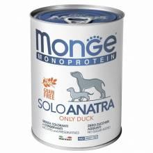 Monge Dog Monoprotein Solo паштет для взрослых собак из свинины в консервах - 400 г х 24 шт