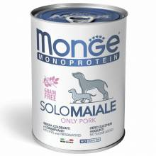 Monge Dog Monoprotein Solo паштет для взрослых собак из утки в консервах - 400 г х 24 шт