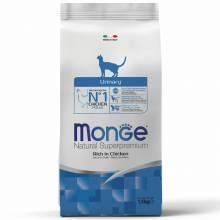 Monge Cat Urinary сухой корм для кошек для профилактики МКБ 400 гр (1,5 кг) (10 кг)