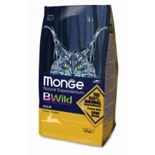 Monge Bwild Cat Adult Hare для взрослых кошек с мясом зайца - 1,5 кг (10 кг)