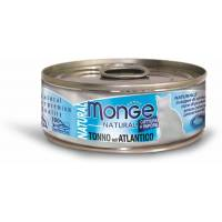 Monge Cat Natural консервы для кошек атлантический тунец 80 гр х 24 шт.