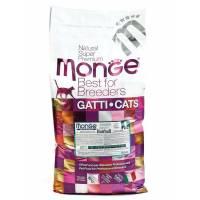 Monge Cat Hairball сухой корм для кошек для выведения комков шерсти 400 гр (1,5 кг) (10 кг)