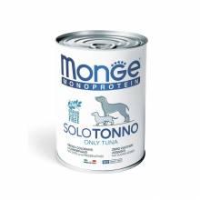 Monge Dog Monoproteico Solo консервы для собак паштет из тунца - 400 г х 24 шт