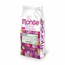 Сухой корм Monge Cat Monoprotein Adult для взрослых кошек с кроликом - 10 кг