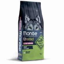 Monge BWild Dog Adult Wild Boar сухой корм для взрослых собак всех пород с мясом дикого кабана - 2 кг (12 кг)