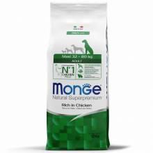 Monge Adult Maxi Rich in Chicken сухой корм для собак крупных пород с курицей 3 кг (12 кг)