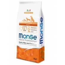 Monge Dog Speciality cухой корм для собак всех пород утка с рисом и картофелем 2,5 кг (12 кг)