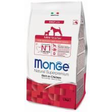 Monge Dog Mini Starter сухой корм для щенков мелких пород 1,5 кг