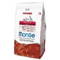 Monge Dog Speciality Mini Adult для взрослых собак мелких пород ягненок с рисом и картофелем 2,5 кг (7,5 кг).