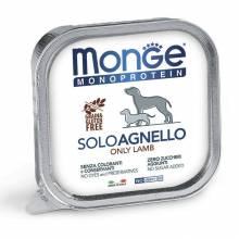 Monge Dog Monoproteico Solo консервы для собак паштет из ягненка 150 г х 24 шт