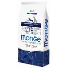 Monge Dog Medium сухой корм для взрослых собак средних пород 3 кг (12 кг) (15 кг)