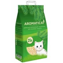 AromatiCat Древесный впитывающий наполнитель - 5 л (10 л), (25 л)