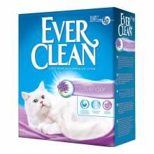 Наполнитель Ever Clean Lavender комкующийся с ароматом лаванды 6 л  (10 л)