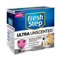 Наполнитель Fresh Step Ultra Unscented комкующийся без ароматизатора - 6,35 кг