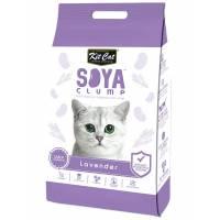 Kit Cat SoyaClump Soybean Litter Lavender соевый биоразлагаемый комкующийся наполнитель с ароматом лаванды - 7 л (14 л)