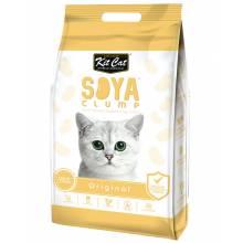 Kit Cat SoyaClump Soybean Litter соевый биоразлагаемый комкующийся наполнитель - 7 л (14 л)