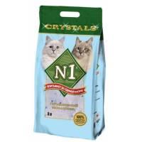 Наполнитель N1 Crystals силикагелевый для кошачьего туалета 3л (5 л) (12,5 л) (30 л)