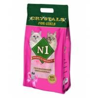 Наполнитель N1 For Girls силикагелевый для кошачьего туалета 5 л (12,5 л)