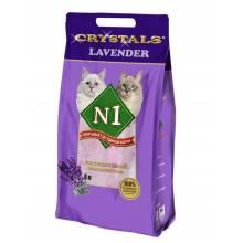 Наполнитель N1 Лаванда силикагелевый для кошачьего туалета 5 л