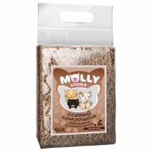 Наполнитель Molly Coddle соевый комкующийся с ароматом кофе - 6 л