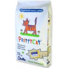 Наполнитель PrettyCat наполнитель древесный для кошачьих туалетов Wood Granules 10 кг (23 кг)