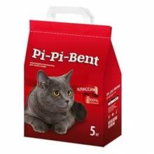 Pi-Pi-Bent Classic наполнитель для кошек комкующийся 5 кг