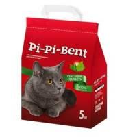 Pi-Pi-Bent Сенсация свежести наполнитель для кошек комкующийся 5 кг