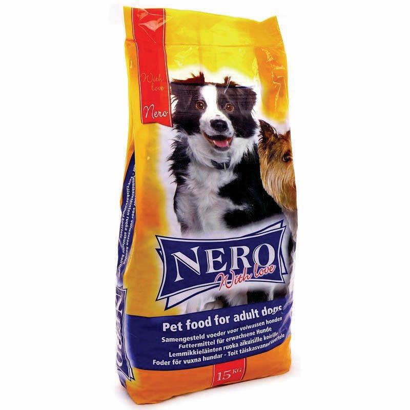 Nero Gold Adult Dog Croc Economy with Love сухой корм супер премиум класса для взрослых собак с мясным коктейлем 18 кг