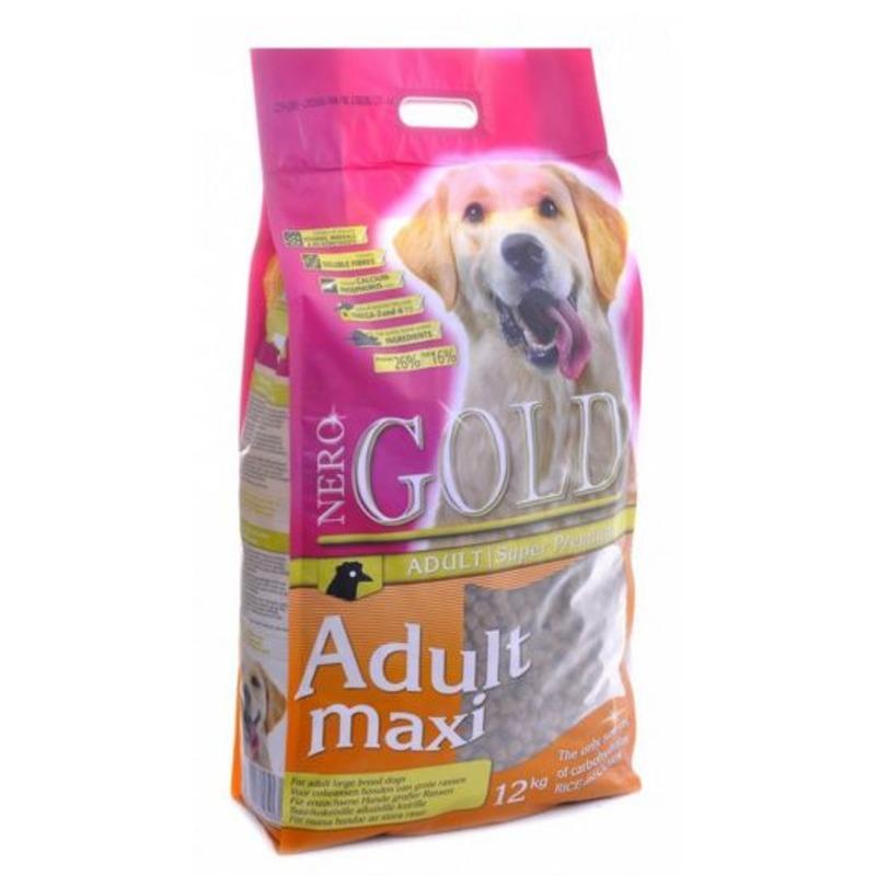 Nero Gold Adult Maxi для взрослых собак крупных пород 18 кг