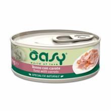 Oasy Wet cat Specialita Naturali Tuna Carrot дополнительное питание для кошек с тунцом и морковью в консервах - 70 г (70 г х 24 шт)