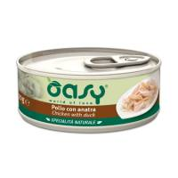 Oasy Wet cat Specialita Naturali Chicken Duck дополнительное питание для кошек с курицей и уткой в консервах - 70 г (70 г х 24 шт)