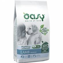 Oasy Dry Dog OAP Puppy All Breed сухой корм для щенков средних и крупных пород с ягненком - 2,5 кг (12 кг)