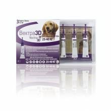Vectra 3D капли инсектоакарицидные для собак 25-40 кг