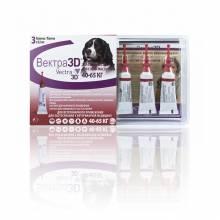 Vectra 3D капли инсектоакарицидные для собак 40-65 кг