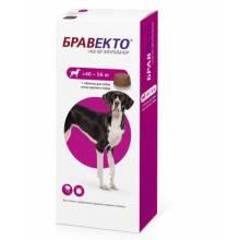 Жевательная таблетка Бравекто от блох и клещей весом от 40 до 56 кг - 1400 мг