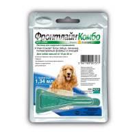 Капли Фронтлайн Комбо M капли на холку для собак массой 10 – 20 кг (1,34 мл)