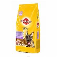 Pedigree сухой корм для щенков крупных пород с 6 месяцев с курицей - 13 кг