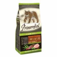 Primordial сухой беззерновой корм для взрослых кошек с уткой и индейкой 2 кг