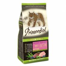 Primordial сухой беззерновой корм для котят с уткой и индейкой 2 кг