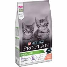 Pro Plan Kitten Sterilised сухой корм для стерилизованных котят с лососем - 1,5 кг (3 кг), (10 кг)