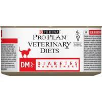 Влажный корм Purina Pro Plan Veterinary diets DM Diabetes Management для взрослых кошек при диабете - 195 г х 24 шт