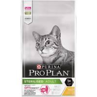 Pro Plan сухой корм для стерилизованных кошек и кастрированных котов старше 1 года, с высоким содержанием курицы - 400 г (1,5 кг) (3 кг) (10 кг)